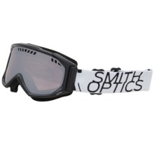 Smith Optics Scope Graphic Snowsport Goggles in Black/White Data/Ignitor - Closeouts