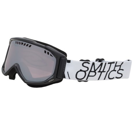 Smith Optics Scope Graphic Snowsport Goggles in Black/White Data/Ignitor