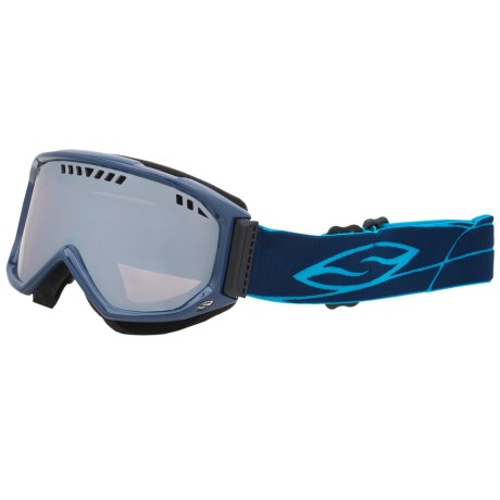 Smith Optics Scope Graphic Snowsport Goggles in Navy/Ignitor