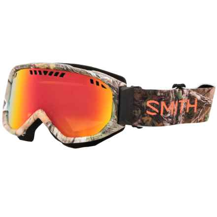 Smith Optics Scope Ski Goggles in Realtree Xtra Green/Red Sol-X - Closeouts