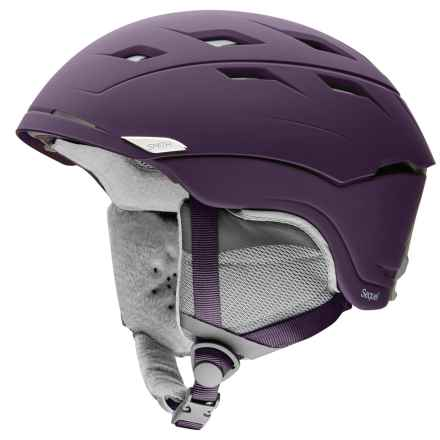Smith Optics Sequel Ski Helmet (For Women) in Matte Black Cherry - Closeouts