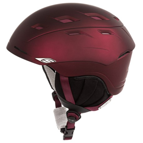 Smith Optics Sequel Snowsport Helmet in Merlot