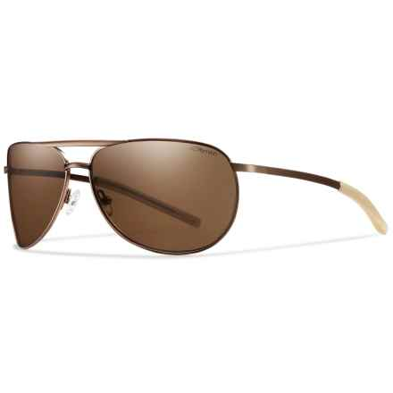 Smith Optics Serpico Slim Sunglasses in Matte Dessert/Brown - Closeouts