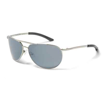 Smith Optics Serpico Slim Sunglasses in Slim Silver/Platinum - Overstock