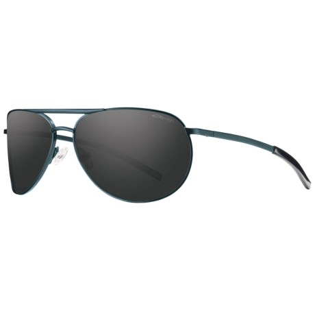 Smith Optics Serpico Slim Sunglasses - Polarized in Denim/Blackout
