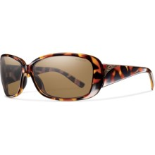 Smith Optics Shorewood Sunglasses - Polarized (For Women) in Tortoise/Polarized Brown - Closeouts