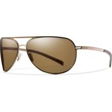 Smith Optics Showdown Sunglasses- Polarized in Matte Brown/Polarized Brown - Closeouts