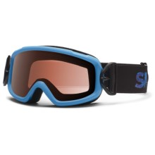 Smith Optics Sidekick Snowsport Goggles (For Youth) in Cyan Fader/Rc36 - Closeouts