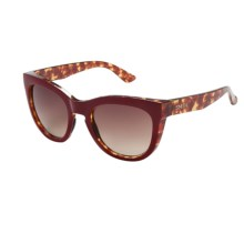 Smith Optics Sidney Sunglasses in Red Tortoise/Sienna Gradient - Closeouts