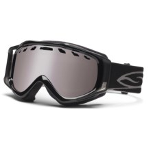 Smith Optics Stance Snowsport Goggles - Interchangeable Lens in Black/Ignitor Mirror - Closeouts