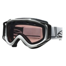 Smith Optics Stance Snowsport Goggles - Interchangeable Lens in White Foundation/Ignitor Mirror - Closeouts