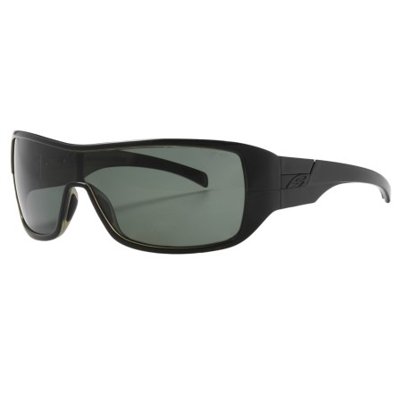 Smith Optics Stronghold Sunglasses - Polarized in Black/Grey Green