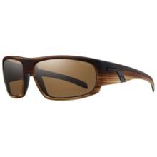 Smith Optics Terrace Sunglasses in Brown Ash/Brown - Closeouts