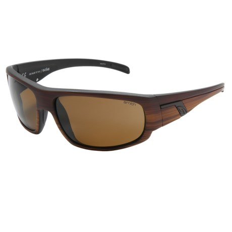 Smith Optics Terrace Sunglasses - Polarized in Woodgrain/Polar Brown