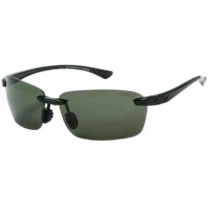 Smith Optics Trailblazer Sunglasses - Polarized ChromaPop Lenses in Black/Gray Green - Closeouts
