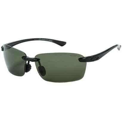 Smith Optics Trailblazer Sunglasses - Polarized ChromaPop Lenses in Black/Gray Green - Closeouts