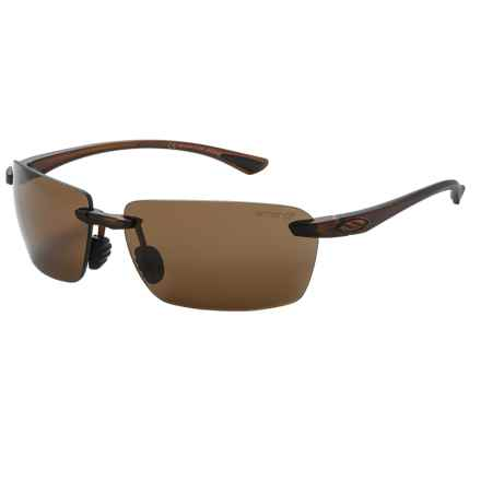 Smith Optics Trailblazer Sunglasses - Polarized ChromaPop Lenses in Dark Brown/Brown - Closeouts