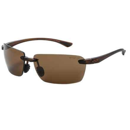 Smith Optics Trailblazer Sunglasses - Polarized ChromaPop Lenses in Dark Brown/Brown - Closeouts