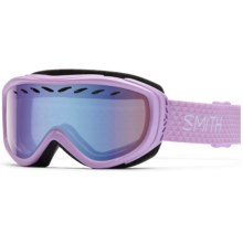 Smith Optics Transit Pro Ski Goggles in Blush/Blue Sensor - Closeouts