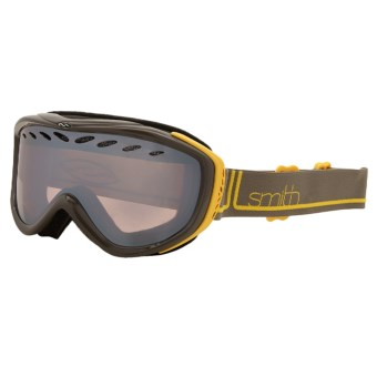Smith Optics Transit Pro Snowsport Goggles - Ignitor Lens in Yellow Foundation/Ignitor Lens