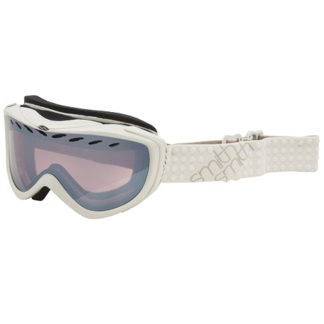 Smith Optics Transit Pro Snowsport Goggles in Bone/Ignitor