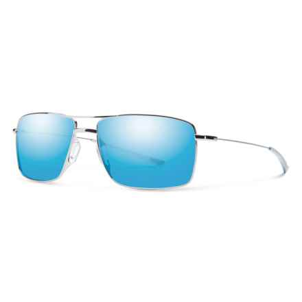 Smith Optics Turner Sol-X Sunglasses in Gunmetal/Blue - Overstock