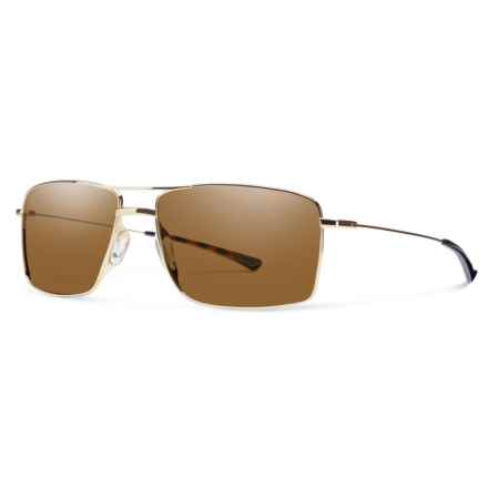 Smith Optics Turner Sunglasses in Gold/Brown - Closeouts
