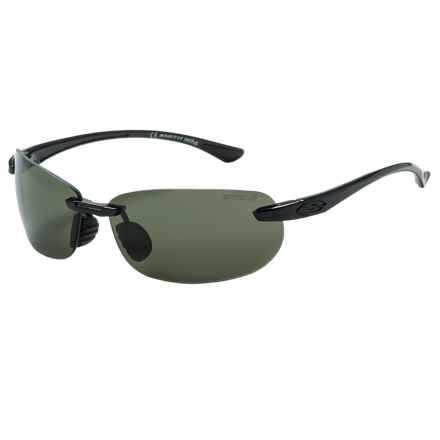 Smith Optics Turnkey Sunglasses - Polarized ChromaPop Lenses in Black/Gray Green - Closeouts