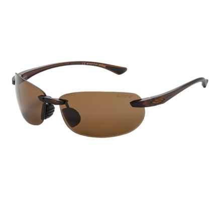 Smith Optics Turnkey Sunglasses - Polarized ChromaPop Lenses in Dark Brown/Brown - Closeouts