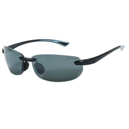 Smith Optics Turnkey Sunglasses - Polarized ChromaPop Lenses in Midnight Blue/Platinum - Closeouts