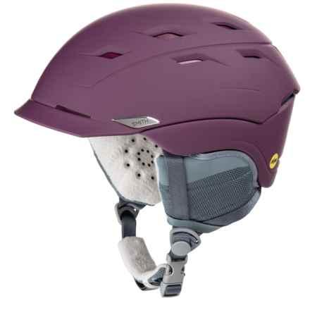 Smith Optics Valence Ski Helmet - MIPS (For Women) in Matte Grape - Closeouts