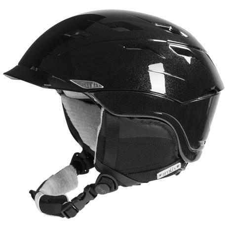Smith Optics Valence Snowsport Helmet (For Women) in Black Discord