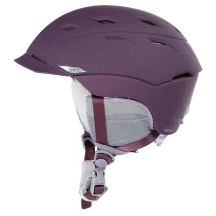 Smith Optics Valence Snowsport Helmet (For Women) in Matte Black Cherry - Closeouts