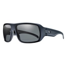 Smith Optics Vanguard Sunglasses - Polarized in Matte Black/Polarized Platinum - Closeouts