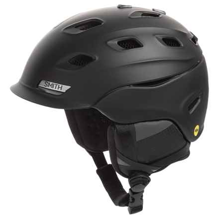 Smith Optics Vantage MIPS Ski Helmet in Matte Black/Black - Closeouts