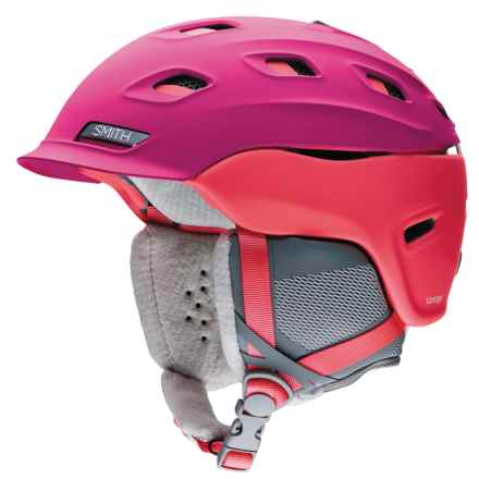 Smith Optics Vantage Snowsport Helmet (For Women) in Fuchsia - Closeouts