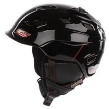 Smith Optics Vantage Snowsport Helmet in Black/Red Truetype - Closeouts