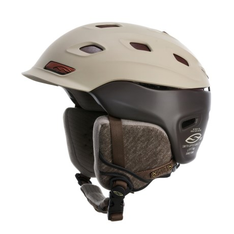 Smith Optics Vantage Snowsport Helmet in Stone Mill Union