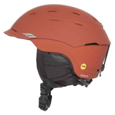 Smith Optics Variance Ski Helmet - MIPS in Matte Adobe - Closeouts