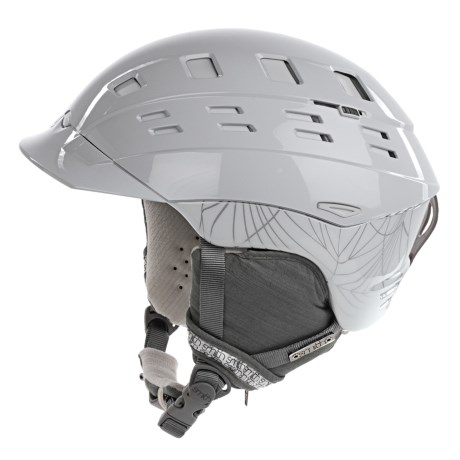 Smith Optics Variant Brim Snowsport Helmet (For Women) in White Coven