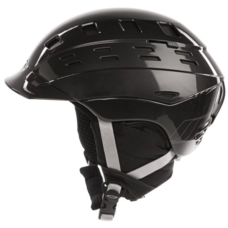 Smith Optics Variant Brim Snowsport Helmet in Gunmetal Max