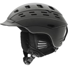 Smith Optics Variant Brim Snowsport Helmet in Matte Graphite - Closeouts