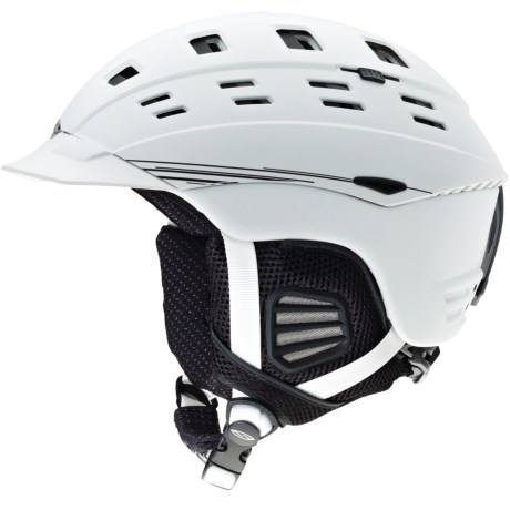 Smith Optics Variant Brim Snowsport Helmet in Matte White