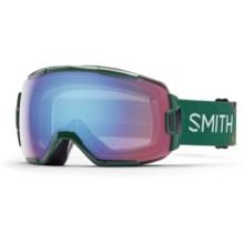 Smith Optics Vice Ski Goggles in Green Obscura/Blue Sensor - Closeouts