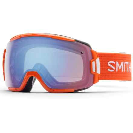 Smith Optics Vice Ski Goggles in Orange/Blue Sensor - Closeouts