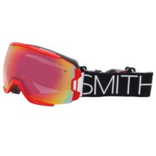 Smith Optics Vice Snowsport Goggles in Fire/Blockhead/Red Sensor Mirror - Closeouts