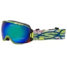 Smith Optics Vice Snowsport Goggles in Sleepy Stevens/Green Sol X Mirror - Closeouts