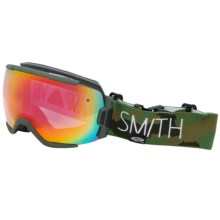 Smith Optics Vice Snowsport Goggles in Trilaboration/Red Sensor - Closeouts