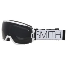 Smith Optics Vice Snowsport Goggles in White Block/Blackout - Closeouts