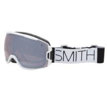 Smith Optics Vice Snowsport Goggles in White Block/Ignitor Mirror - Closeouts